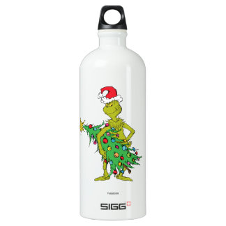 Classic Grinch | Naughty Water Bottle