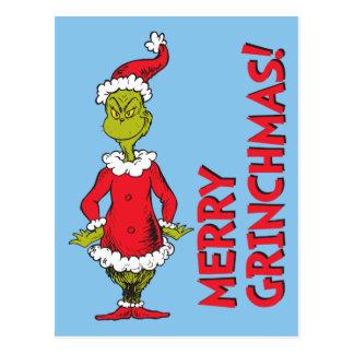 Classic Grinch | Santa Claus Postcard
