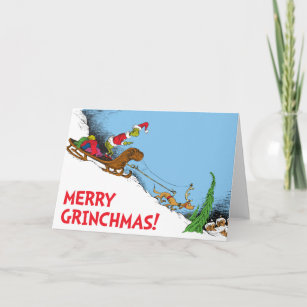 Classic Grinch | The Grinch and Reindeer Max Holiday Card  sc 1 st  Zazzle & Dr Seuss The Grinch Cards - Greeting u0026 Photo Cards | Zazzle
