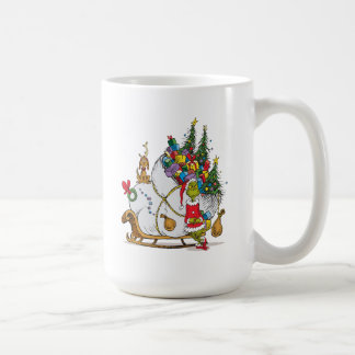 Classic Grinch | The Grinch & Max with Sleigh Coffee Mug