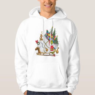 Classic Grinch | The Grinch & Max with Sleigh Hoodie