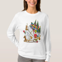 Classic Grinch   The Grinch & Max with Sleigh T-Shirt