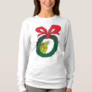 Classic Grinch | Wreath T-Shirt