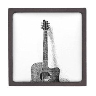 Classic Guitar Jewelry Box