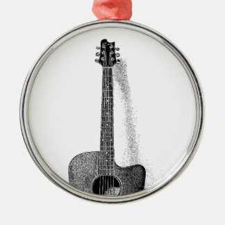 Classic Guitar Metal Ornament