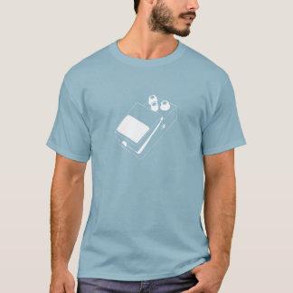Classic Guitar Pedal Men Dark T-Shirt