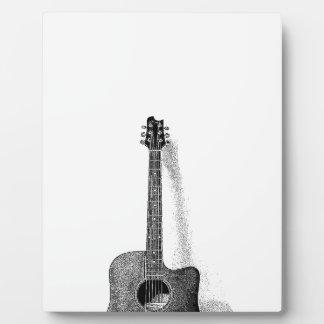 Classic Guitar Plaque