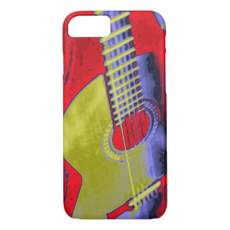 Classic Guitar Pop Art iPhone 8/7 Case