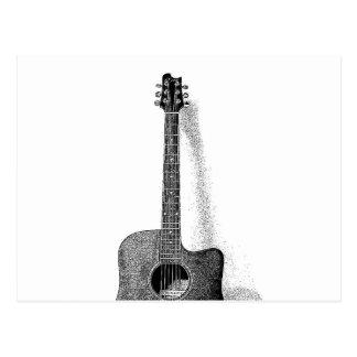 Classic Guitar Postcard
