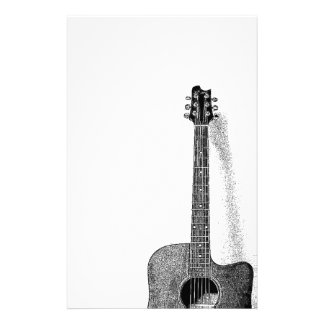 Classic Guitar Stationery