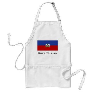 Classic Haitian Flag Adult Apron