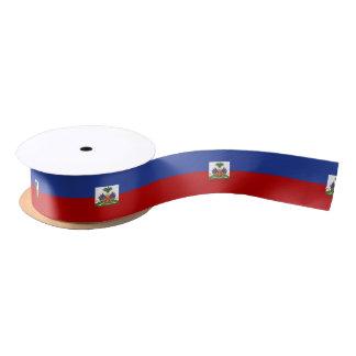Classic Haitian Flag Satin Ribbon
