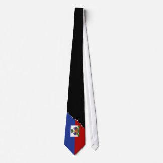 Classic Haitian Flag Tie