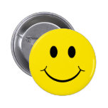 Classic Happy Face Pin