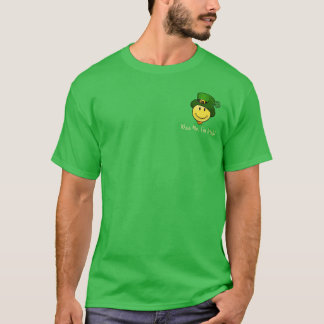 Classic Happy Face with a Leprechaun Hat T-Shirt