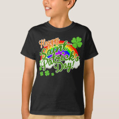 Classic Happy St. Patrick's Day T-shirt at Zazzle