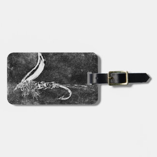 """Classic """"Hare's Ear Wet"""" Wet Fly Luggage Tag"""
