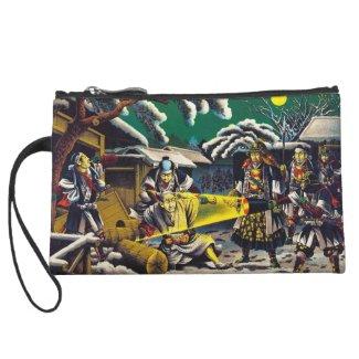 Classic historical painting Japan Bushido paragon Wristlet Clutches