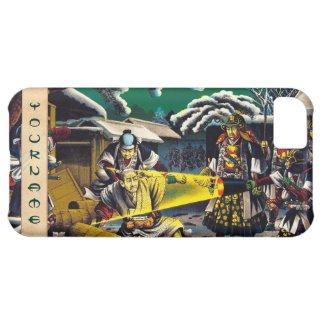 Classic historical painting Japan Bushido paragon iPhone 5C Cover