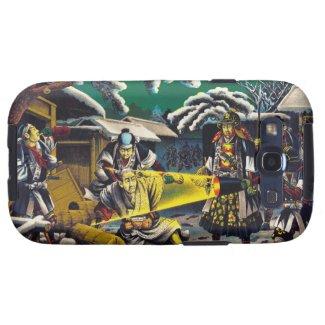 Classic historical painting Japan Bushido paragon Galaxy SIII Covers