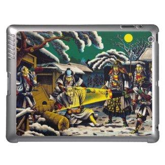 Classic historical painting Japan Bushido paragon iPad Case