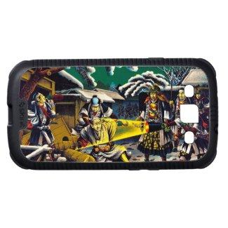 Classic historical painting Japan Bushido paragon Samsung Galaxy SIII Cover
