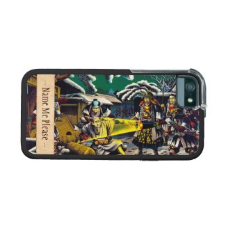 Classic historical painting Japan Bushido paragon iPhone 5 Covers
