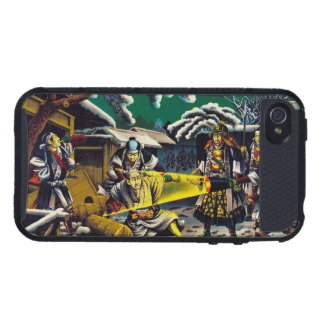 Classic historical painting Japan Bushido paragon iPhone 4 Cover