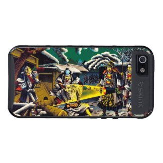 Classic historical painting Japan Bushido paragon Cover For iPhone 5/5S
