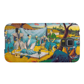 Classic historical painting Japan Bushido paragon Galaxy S5 Case
