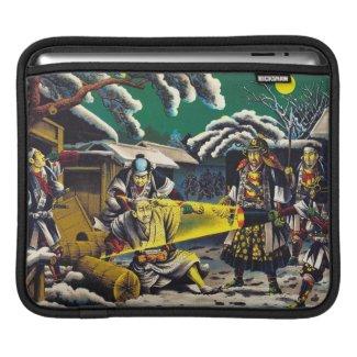 Classic historical painting Japan Bushido paragon Sleeve For iPads