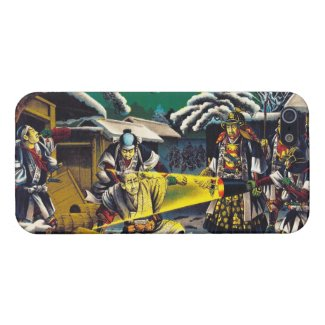 Classic historical painting Japan Bushido paragon Case For iPhone 5