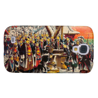 Classic historical painting Japan Bushido paragon Samsung Galaxy S4 Case