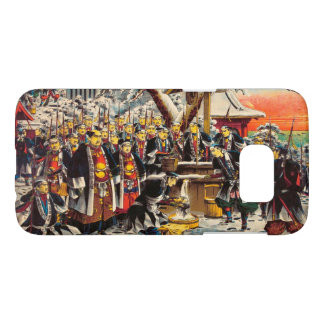 Classic historical painting Japan Bushido paragon Samsung Galaxy S7 Case