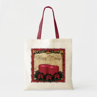 Classic Holiday Deco Christmas GIFT Tote Bag