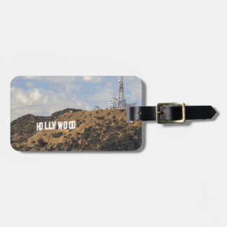 Classic Hollywood Sign Bag Tag