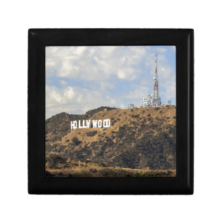 Classic Hollywood Sign Keepsake Box