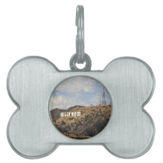 Classic Hollywood Sign Pet ID Tag