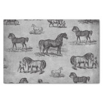 Classic Horse Pattern Tissue Paper