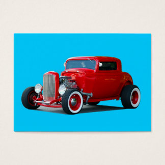 Classic hot-rod business card