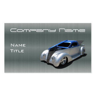 Classic Hot Rod Business card templates