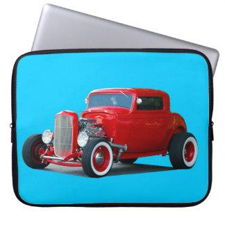 Classic Hot-Rod Car Computer Sleeve