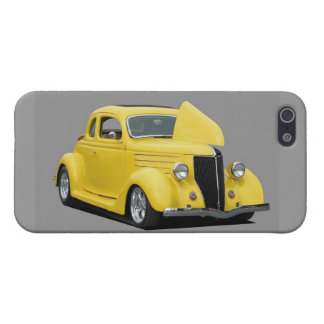 Classic Hot Rod Car Cover For iPhone SE/5/5s
