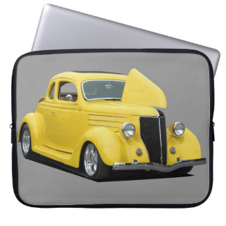 Classic Hot-Rod Car Laptop Sleeves