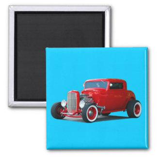 Classic  Hot-Rod Refrigerator Magnets