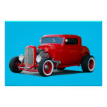 Classic Hot Rod Posters