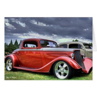Classic Hotrod Car Card