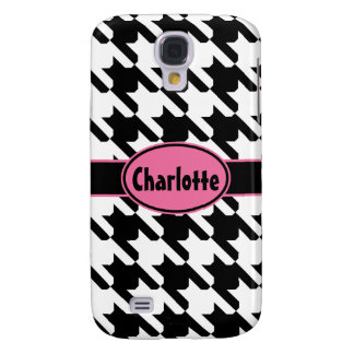 Classic Houndstooth Galaxy S4 Cover