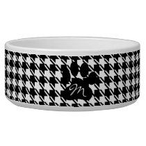 Classic Houndstooth Pattern Bowl
