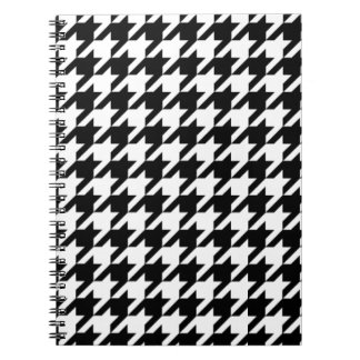 CLASSIC HOUNDSTOOTH SPIRAL NOTEBOOKS